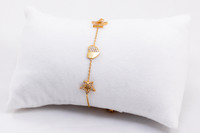 YELLOW GOLD BABY BANGLE, YGBaby0049, 21K, Size:Baby, Weight: g