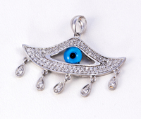 WHITE GOLD PENDANT, WGPEND014, 18K, Weight: 3g