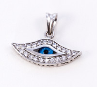 WHITE GOLD PENDANT, WGPEND015, 18K, Weight: 3.74g