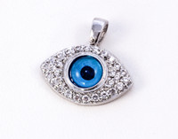 WHITE GOLD PENDANT, WGPEND017, 18K, Weight: 2.8g