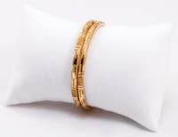 YELLOW GOLD BABY BANGLE, 21K, Size: Child Large, Weight: 11.7g
