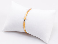 YELLOW GOLD BABY BANGLE, YGBaby0014, 21K, Size: Child Small, Weight: 5.7g