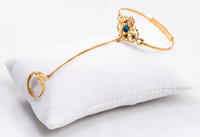 YELLOW GOLD BABY BANGLE, YGBaby0027, 21K, Size: Child Small, Weight: 6.5g