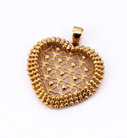 YELLOW GOLD PENDANT, 21K, Weight: 0g, YGPEND0014