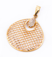 YELLOW GOLD PENDANT, 21K, Weight: 0g, YGPEND0023