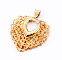 YELLOW GOLD PENDANT, 21K, Weight: 0g, YGPEND0024