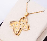 YELLOW GOLD PENDANT, 21K, Weight: 0g, YGPEND0044