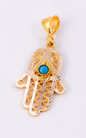 YELLOW GOLD PENDANT, 21K, Weight: 2.88g, YGPEND0079