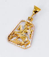 YELLOW GOLD PENDANT, 21K, Weight: 3.43g, YGPEND0088