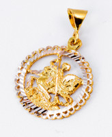 YELLOW GOLD PENDANT, 21K, Weight: 5.01g, YGPEND0089