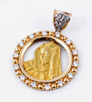 YELLOW GOLD PENDANT, 21K, Weight: 0g, YGPEND0091