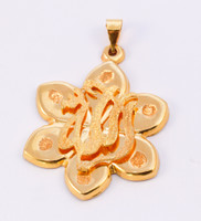 YELLOW GOLD PENDANT, 21K, Weight: 8.55g, YGPEND0099