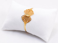 YELLOW GOLD BABY BANGLE, 21K, Size: Child Medium , Weight: 10.1g