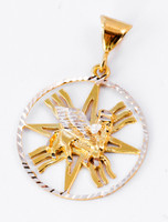 YELLOW GOLD PENDANT, 21K, Weight: 5.95g, YGPEND0148
