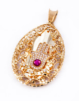 YELLOW GOLD PENDANT, 21K, Weight: 0g, YGPEND0153