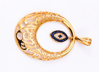 YELLOW GOLD PENDANT, 21K, Weight: 0g, YGPEND0157