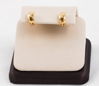 YELLOW GOLD EARRINGS, 21KT, Weight: 4.4g, YGEARRING21K0012