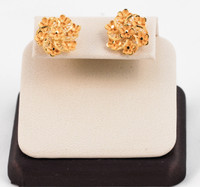 YELLOW GOLD EARRINGS, 21KT, Weight: 6.97g, YGEARRING21K0020