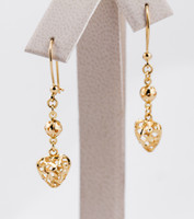 YELLOW GOLD EARRINGS, 21KT, Weight: 3.03g, YGEARRING21K0059