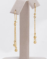 YELLOW GOLD EARRINGS, 21KT, Weight: 2.89g, YGEARRING21K0062