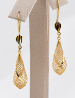 YELLOW GOLD EARRINGS, 21KT, Weight: 0g, YGEARRING21K0074