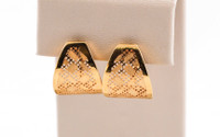 YELLOW GOLD EARRINGS, 21KT, Weight: 5g, YGEARRING21K0089