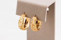 YELLOW GOLD EARRINGS, 21KT, Weight: 4.3g, YGEARRING21K0095