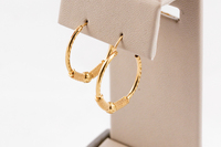 YELLOW GOLD EARRINGS, 21KT, Weight: 3.08g, YGEARRING21K0098