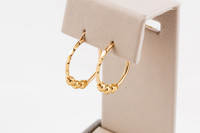 YELLOW GOLD EARRINGS, 21KT, Weight: 3.79g, YGEARRING21K0099