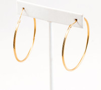 YELLOW GOLD EARRINGS, 21KT, Weight: 3.79g, YGEARRING21K00101
