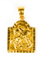 YELLOW GOLD PENDANT, 21K, Weight:3.1g, YGPEND0255