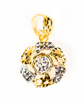 YELLOW GOLD PENDANT, 21K, Weight:2g, YGPEND0285