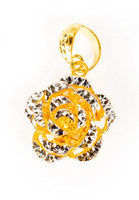 YELLOW GOLD PENDANT, 21K, Weight:3g, YGPEND0295