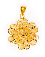 YELLOW GOLD PENDANT, 21K, Weight:5g, YGPEND0299