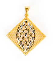YELLOW GOLD PENDANT, 21K, Weight:6g, YGPEND0306