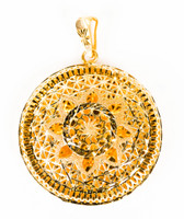 YELLOW GOLD PENDANT, 21K, Weight:6.7g, YGPEND0324