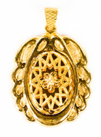 YELLOW GOLD PENDANT, 21K, Weight:11.2g, YGPEND0333