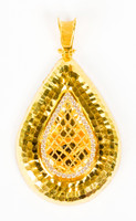 YELLOW GOLD PENDANT, 21K, Weight:7.2g, YGPEND0338