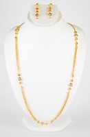 YELLOW GOLD NECKLACE, YGKNECKLACE048, Size:Large, Weight:32.3g