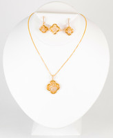 YELLOW GOLD HALF SET, 21KT, YGHALFSET023, Weight: 20.6g
