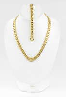 YELLOW GOLD SET, YGSET21K044, Weight:47.6g