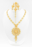 YELLOW GOLD SET, YGSET21K049, Weight:81g