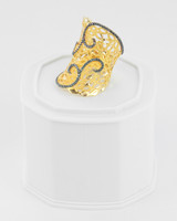 Yellow Gold Ring 21K , YGRING0241, Weight: 10.4g