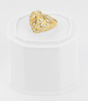 Yellow Gold Ring 21K , YGRING0247, Weight: 5g