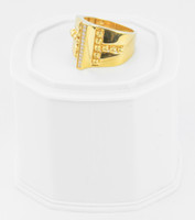 Yellow Gold Ring 21K , YGRING0250, Weight: 9g
