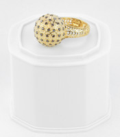 Yellow Gold Ring 21K , YGRING0252, Weight: 9.9g