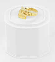 Yellow Gold Ring 21K , YGRING0256, Weight: 5.6g