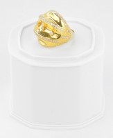Yellow Gold Ring 21K , YGRING0257, Weight: 11.2g