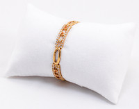 YELLOW GOLD Baby BANGLES, YGBABY0015, 21K, Size: Child Medium , Weight: 12.7g