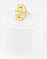 Yellow Gold Ring 18K , YGRING0266, Weight: 5.2g